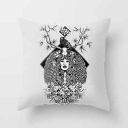 Discover Your Inner Sprit Throw Pillow