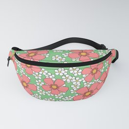 Summer and flowers! - Whites and reds Fanny Pack
