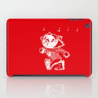 bucky iPad Cases featuring Steamboat Bucky by Aaron Bowersock
