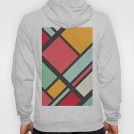 Kitschy Color Blocking Hoody
