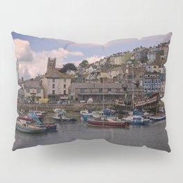 Brixham Harbour Pillow Sham