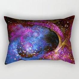 Space Fractal Rectangular Pillow