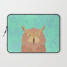 Brown Owl Laptop Sleeve