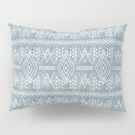 vintage moroccan - dusty blue Pillow Sham