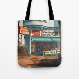The Van Ness South Grocery 17 & SVN San Francisco 1994 Tote Bag