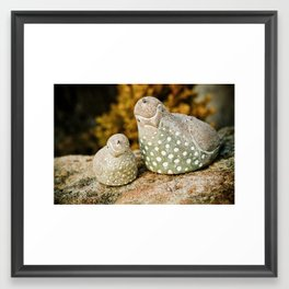quails Framed Art Print
