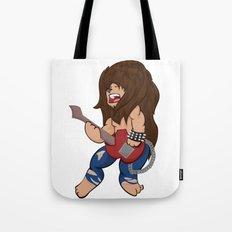 Rocker Lion Tote Bag