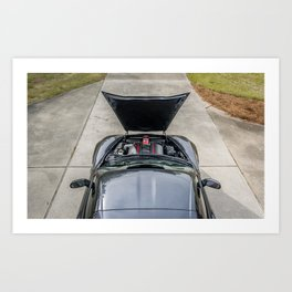 Batvette Engine Art Print