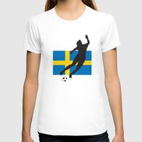 sweden T-shirts featuring Sweden - WWC by Alrkeaton