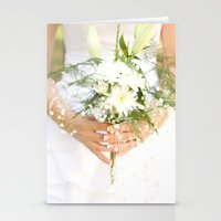 bride Stationery Cards featuring Bride by Tianna Chantal