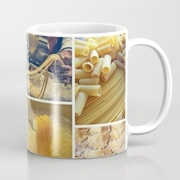 Collage Pasta food Coffee Mug