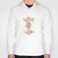 pentagram Hoodies featuring Pentagram by Anca Avram