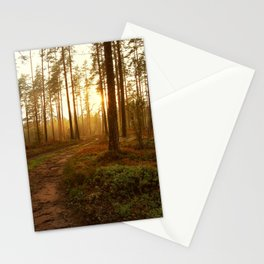 The Warmest Morning Stationery Cards