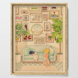 Gallery Wall Serving Tray