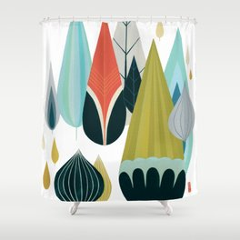 Mod Drops Shower Curtain