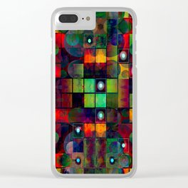 Urban Perceptions, Abstract Shapes Clear iPhone Case