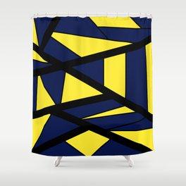 Mosaic Mountain Shower Curtain