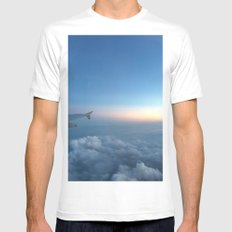 Sky Mens Fitted Tee White MEDIUM