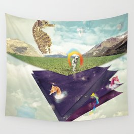 Quantic Jump Wall Tapestry