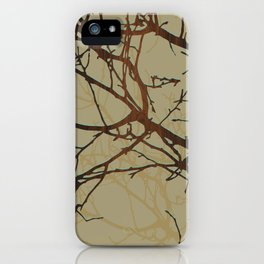 brambles iPhone Case
