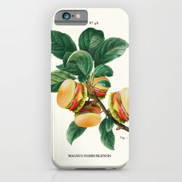 BURGER PLANT iPhone Case