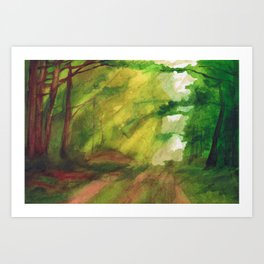 shizen Art Print