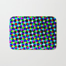 Antonina Shulz in the color grid Bath Mat