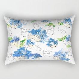 My Neighbour Pattern (White)  Rectangular Pillow