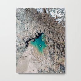 When i look around at nature, i realise that i am Nature. Metal Print