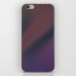 Fancy Curves II iPhone Skin