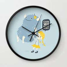 Found (Can We Keep Him) Wall Clock