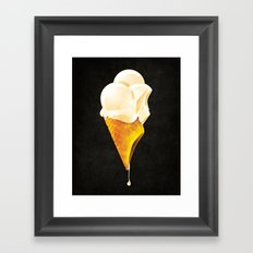 iScream Framed Art Print