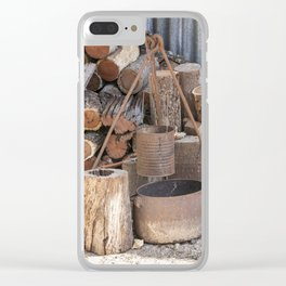 The Camp Fire Clear iPhone Case