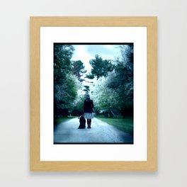 Guide Framed Art Print