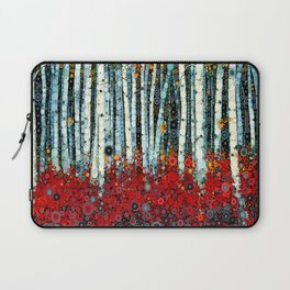 :: Begonia Birch :: Laptop Sleeve