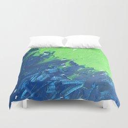 Blue & Green, No. 1 Duvet Cover