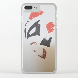 Mimalist of King Hyena Clear iPhone Case