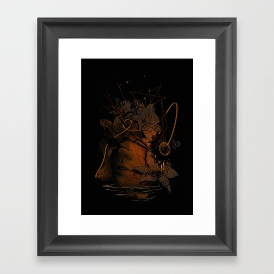 The Lost Track Framed Art Print