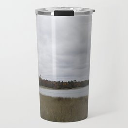 Autumn at Secret Beach Travel Mug