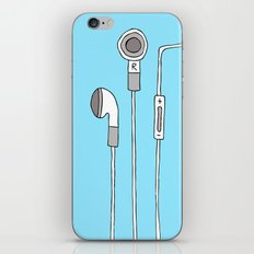 HEADPHONES iPhone & iPod Skin