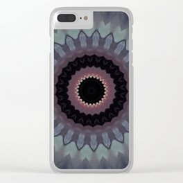 Some Other Mandala 213 Clear iPhone Case