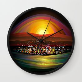 Harbor Square Wall Clock