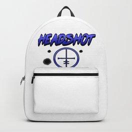 Crosshair computer game online internet shooter gamer giftidea Backpack
