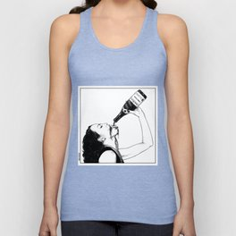 asc 560 - La bouteille (My friend Aloxe) Unisex Tank Top