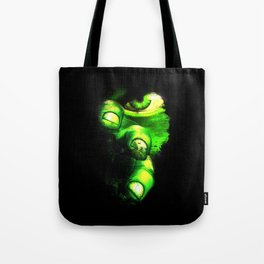 Hulk is walking after you! Tote Bag