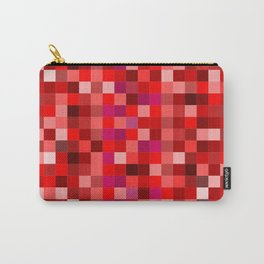 Red Pixel Carry-All Pouch