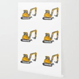 Digger excavators dredger Wallpaper