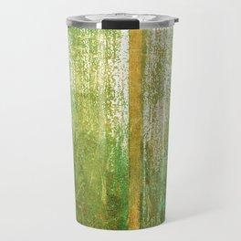Metallic Face (Green Version) Travel Mug