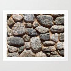 Textures - Rock Art Print