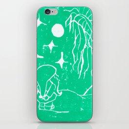 The Winter Elf- Mint Green iPhone Skin